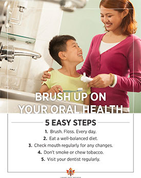 Brush up on your oral health